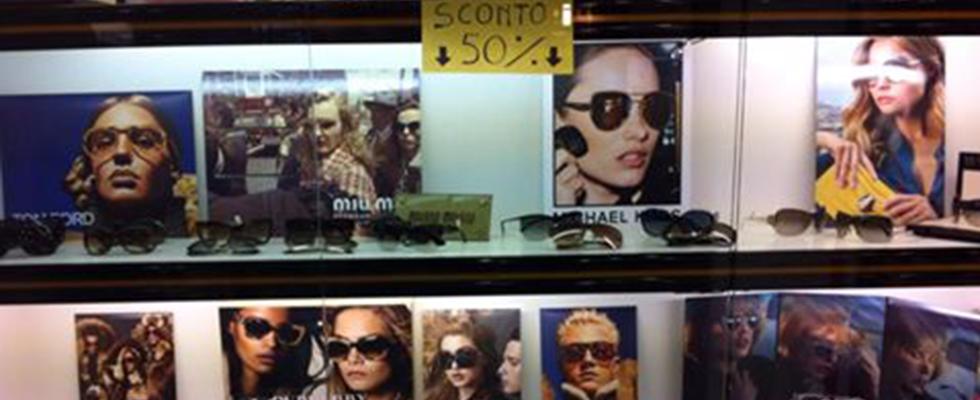 Vendita promozionale di Occhiali sole, Tarquiia, Viterbo