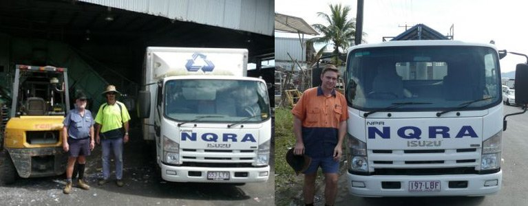 north queensland recycling agents recycling vehicle
