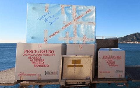 trasporto oggetti fragili