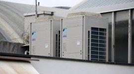 condizionatori VRV, condizionatori commericlai, impianti d'aria industriali