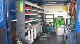 officina mobile condizionatori, impianti frigoriferi, assistenza tecnica