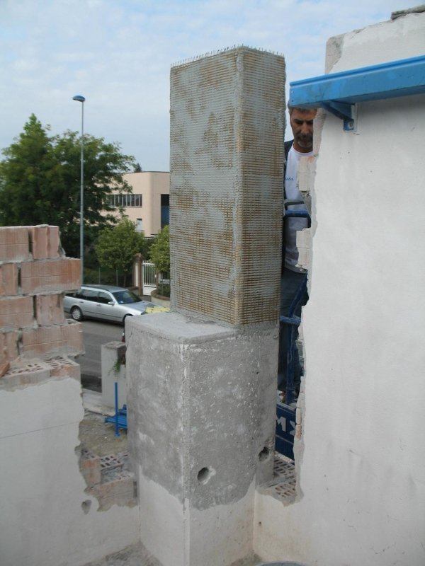restoration with fibre-mesh