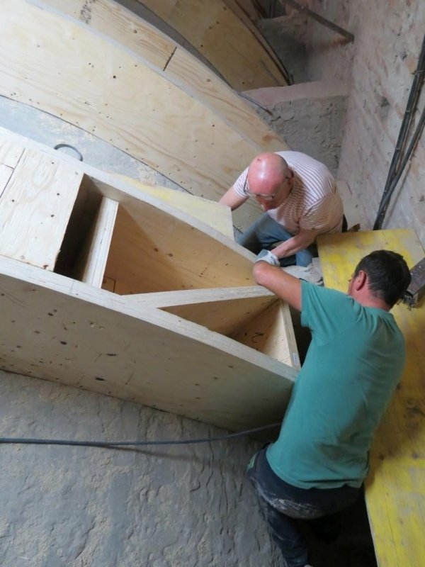 box girder assembly