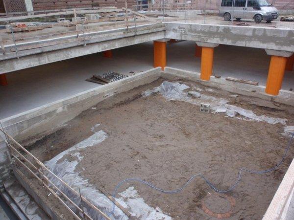 Vista area archeologica