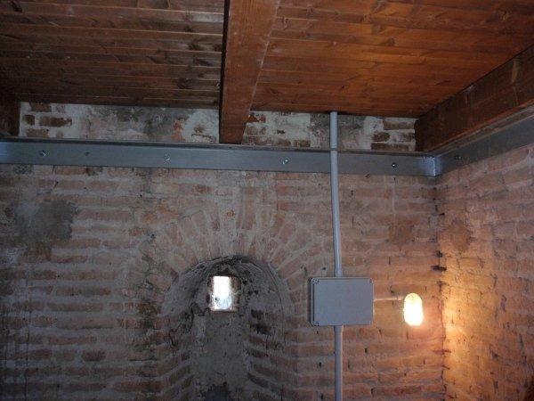 nuovo impianto di illuminazione interna