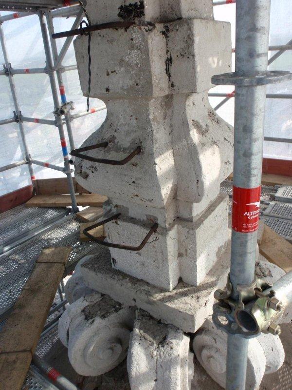 parti metalliche da manutentare o sostituire