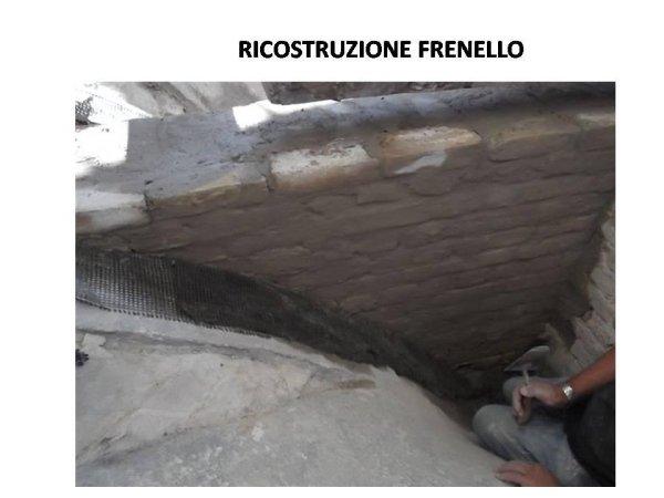 ricostruzione frenello in muratura