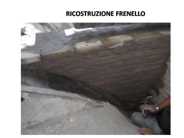 masonry brace reconstruction