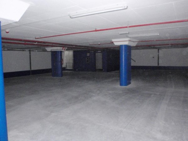 View of second basement level