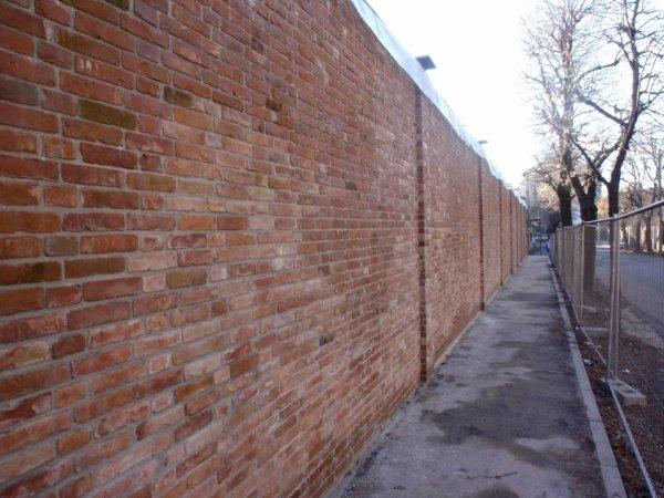 S.Ambrogio church (CR) - Reconstruction of boundary wall