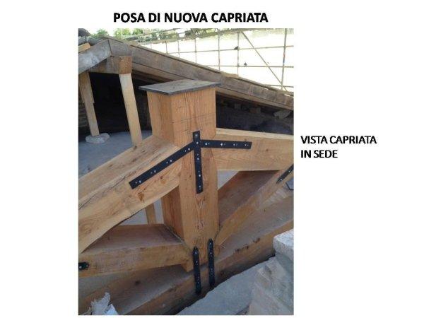 new truss positoned
