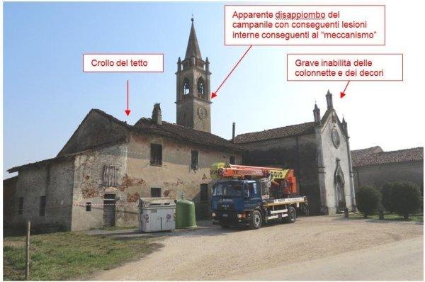 Vista generale chiesa