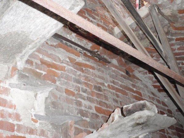 Vista catena interna campanile al livello cinque