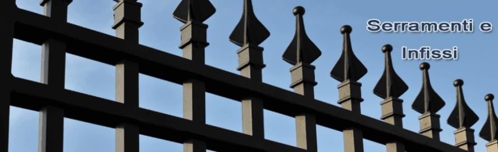 infissi e serramenti in ferro
