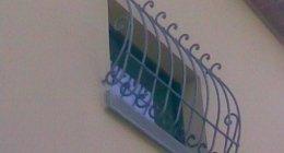 Grate di protezione in ferro per finestre e porte