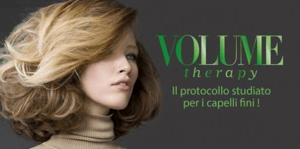 banner pubblicitario prodotti Jean Louis David Volume Therapy