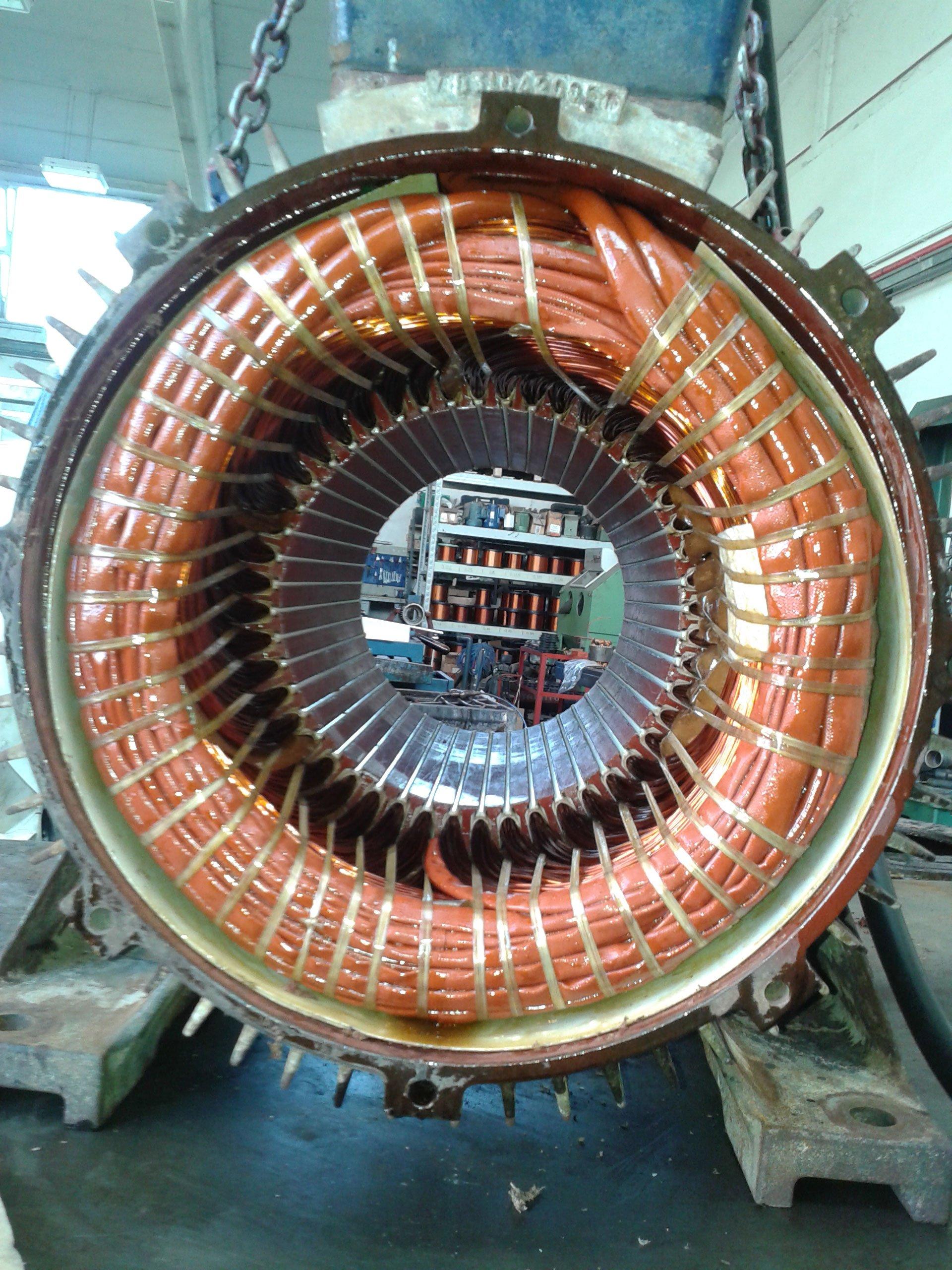 Dettaglio di un macchinario industriale