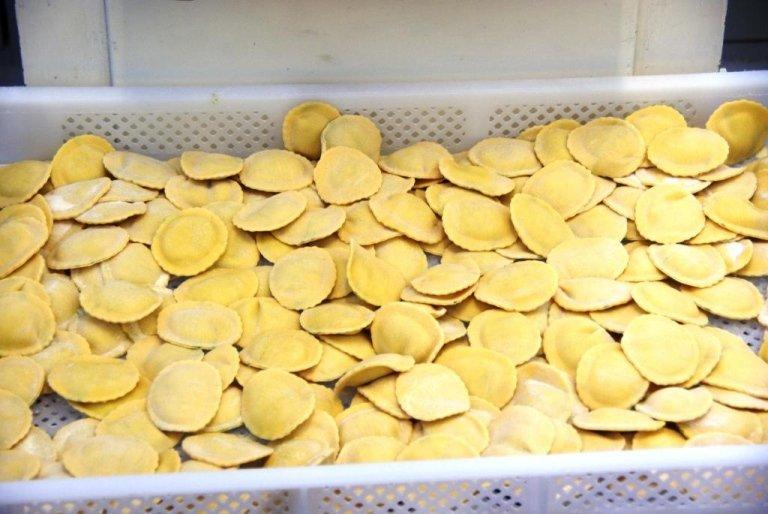 Produzione pasta fresca, Produzione pasta all'uovo, Rieit