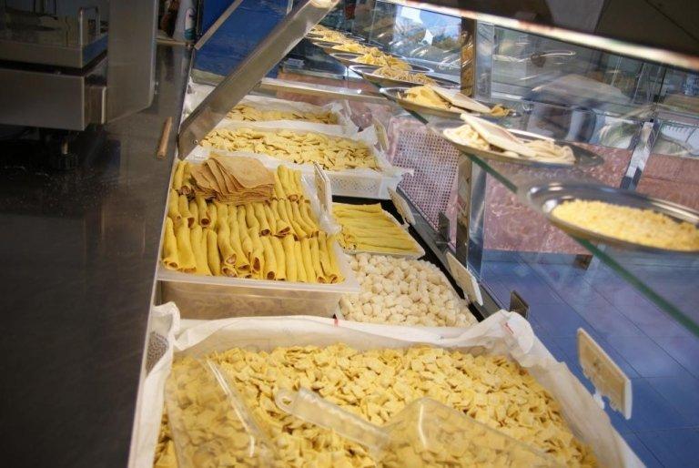 Produzione pasta fresca all'uovo Rieti