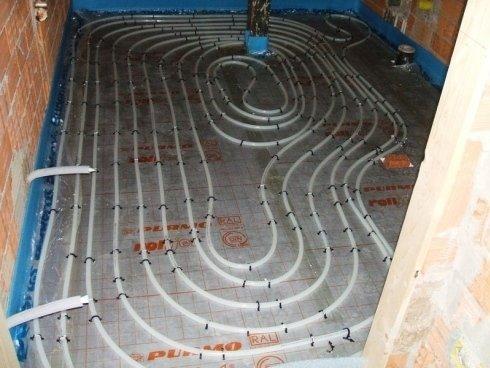 Tubazioni per pavimento riscaldato