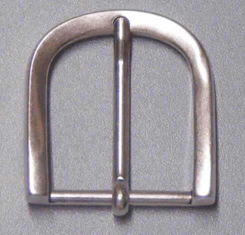 Fibbia curva in bronzo