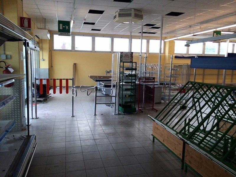 Realizzazione supermercato