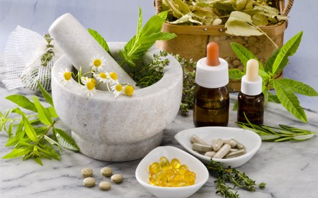 Raw materials for Naturopathy