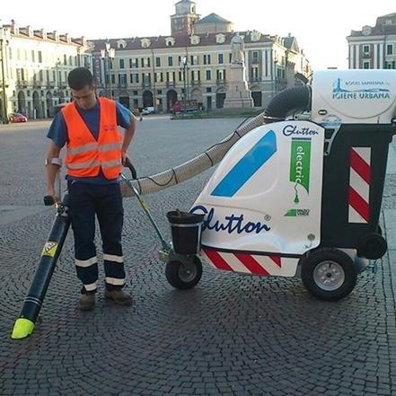 servizio di pulizia stradale