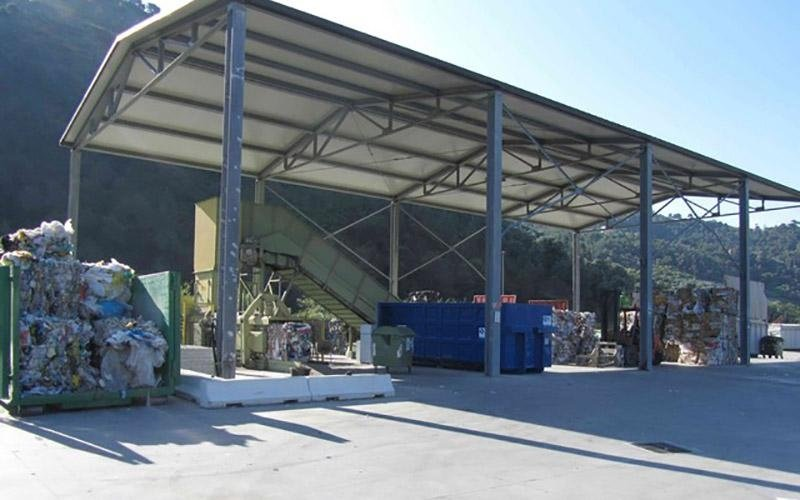 Centro trattamento rifiuti