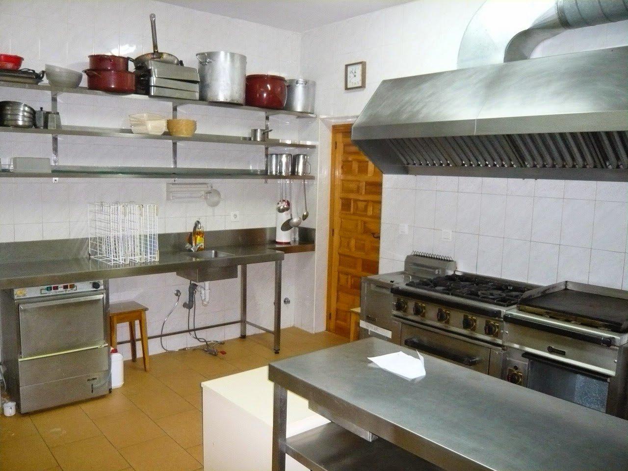 servcios albergue berzosa On cocina industrial equipada