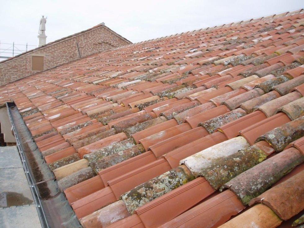 Saletto particolare tetto