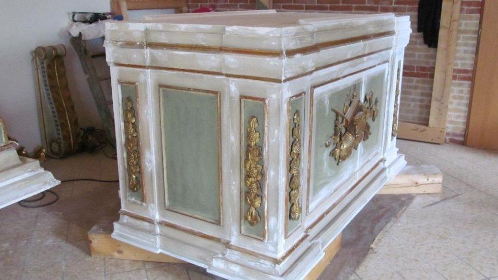 restauro materiali lignei