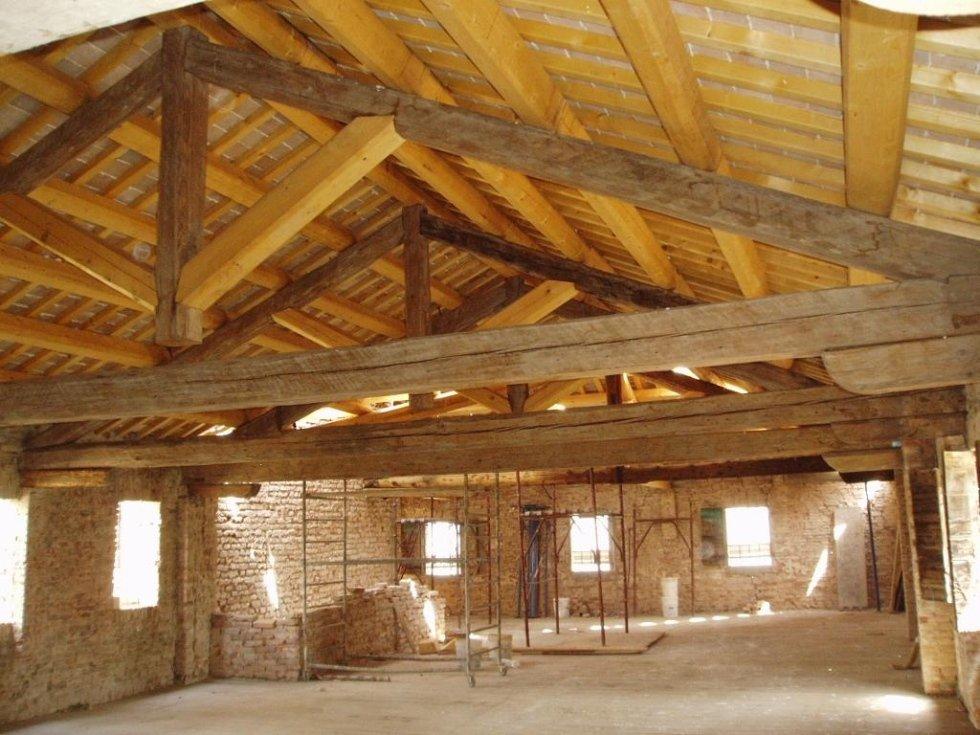 Villa Peruffo tetto post restauro