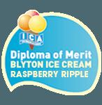 Diploma of merit  Blyton ice cream ripple