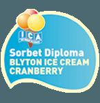 Diploma Blyton ice cream cranberry