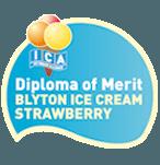 Diploma Blyton ice cream strawberry