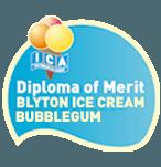 Diploma of merit  Blyton ice cream bubblegum