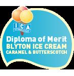 Diploma of merit  Blyton ice cream caramel