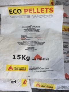 Ecopellet White Wood