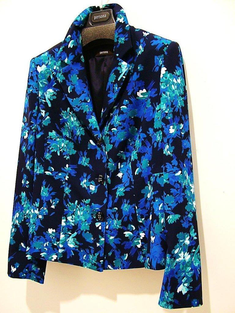giacca primaverile floreale