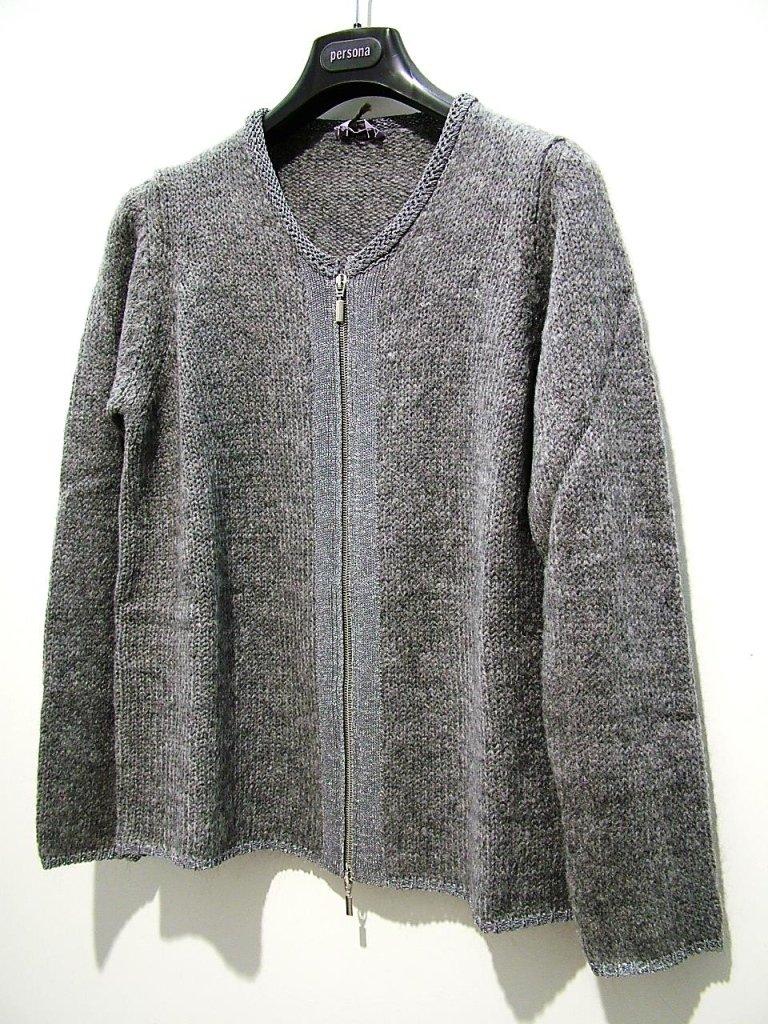 maglia con zip