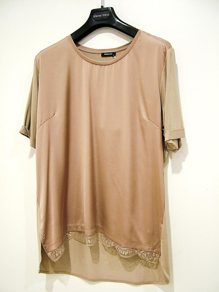 T-SHIRT COLONIALE PIZZO