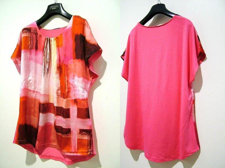 t-shirt rosa fantasia