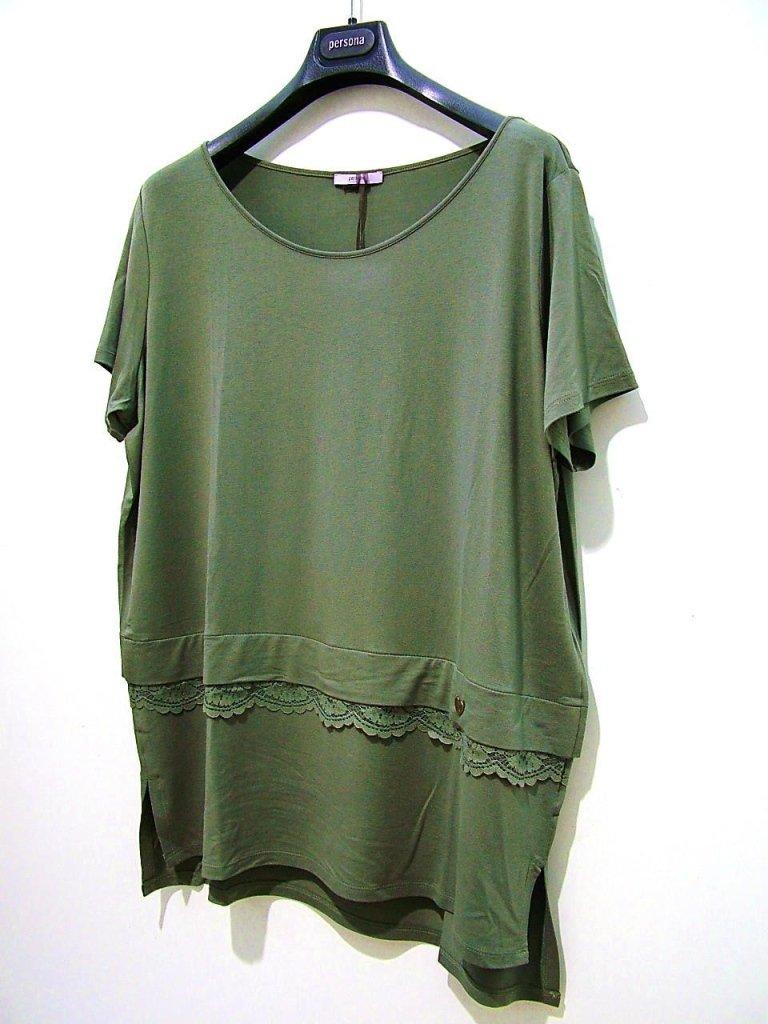 maglia verde morbida
