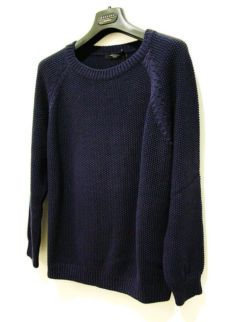 maglia manica lunga blu