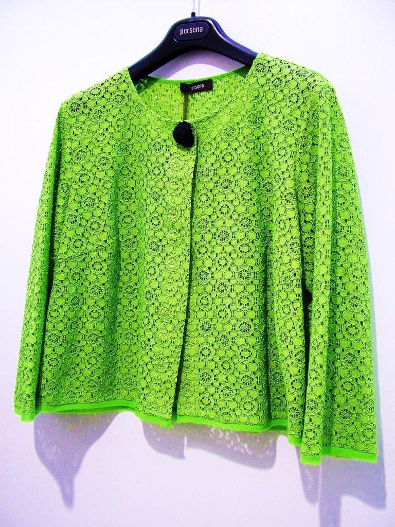 giacca primaverile verde