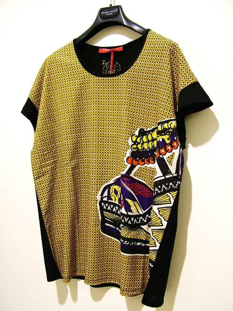maglia gialla e nera
