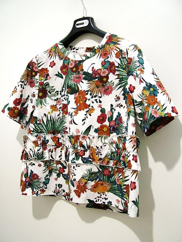 camicia stampa giungla