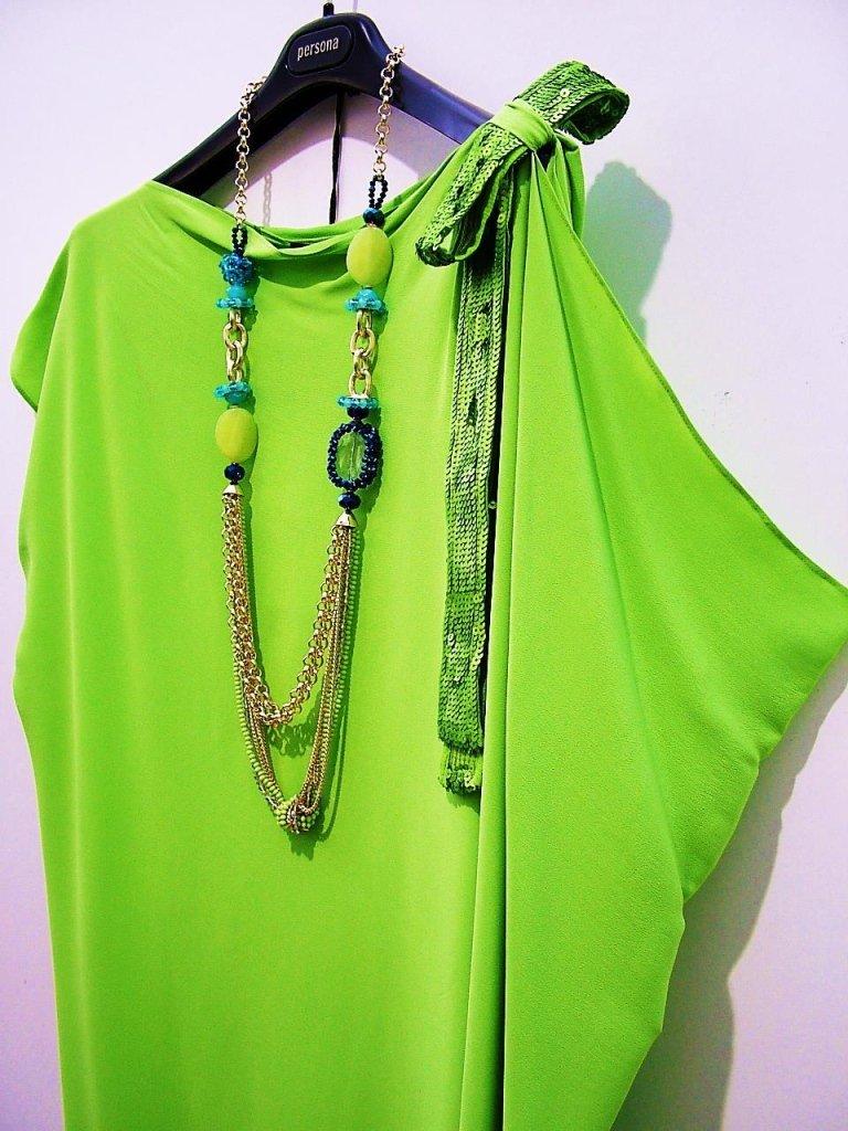 maglia verde brillante