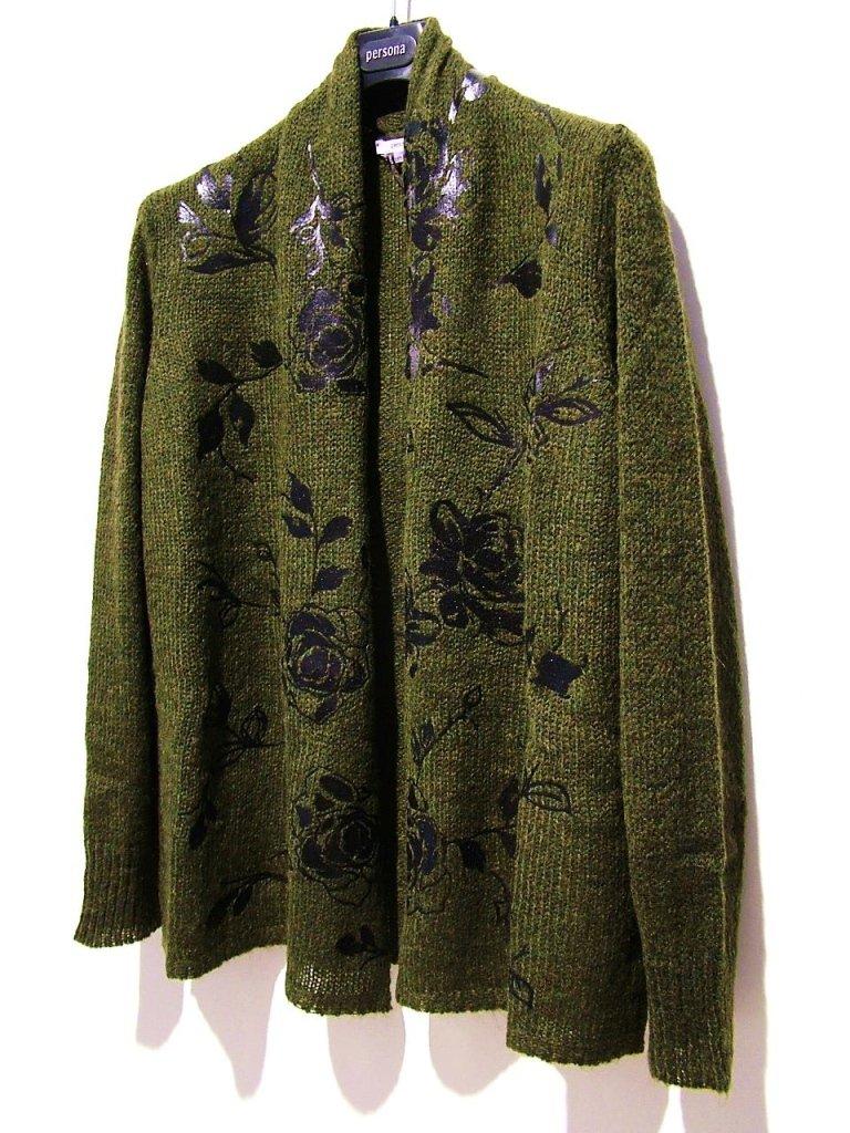 maglia verde scuro